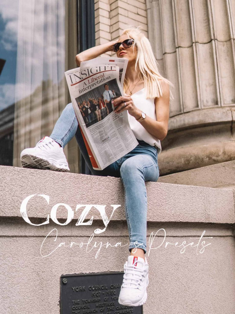 Presets Falls newspaper cool vibes bold Fall instagram easy feed streetstyle