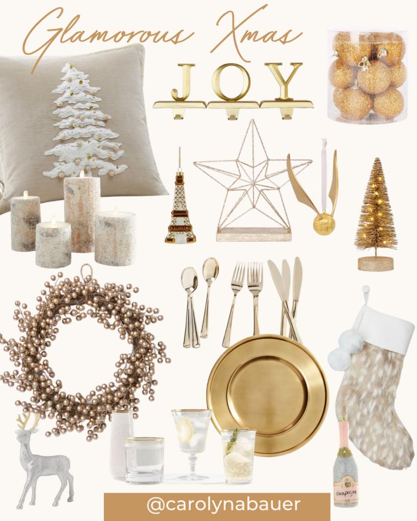 Glamorous Christmas decors