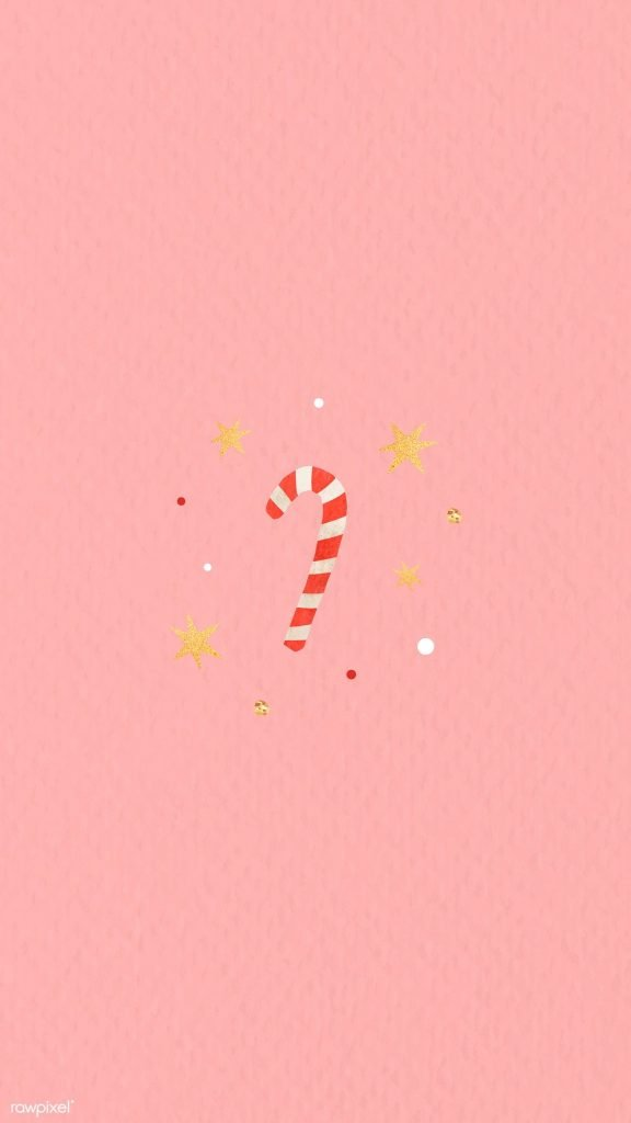 Pink candy cane wallpaper/template/background