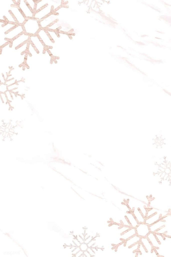 White and gold snowflakes background/template/wallpaper
