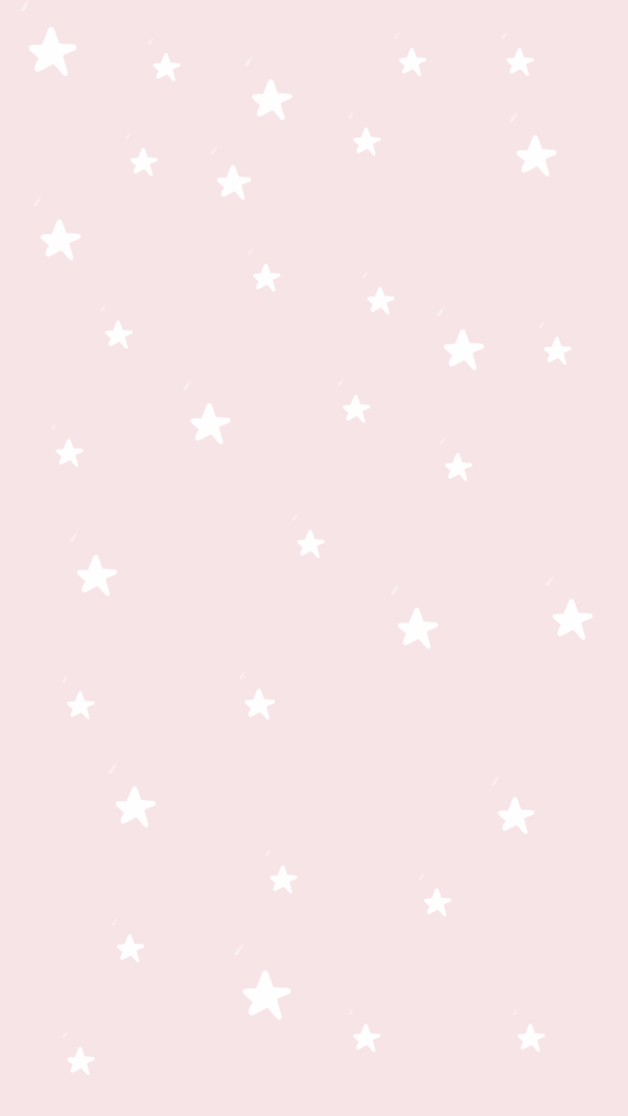 White and pink stars background/wallpaper/template