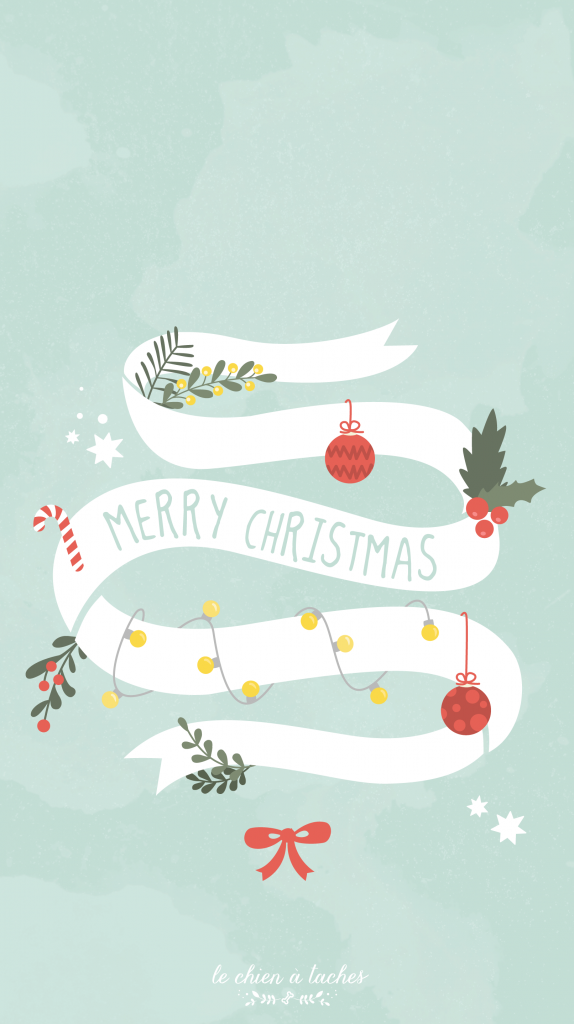 Blue Merry Christmas background/wallpaper/template