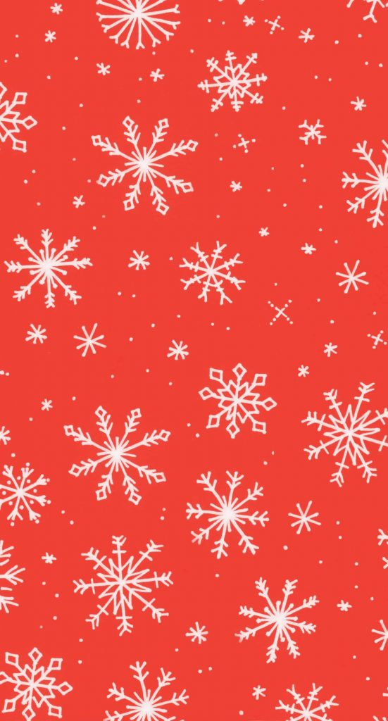 White and red snowflakes background/Templates/wallpaper