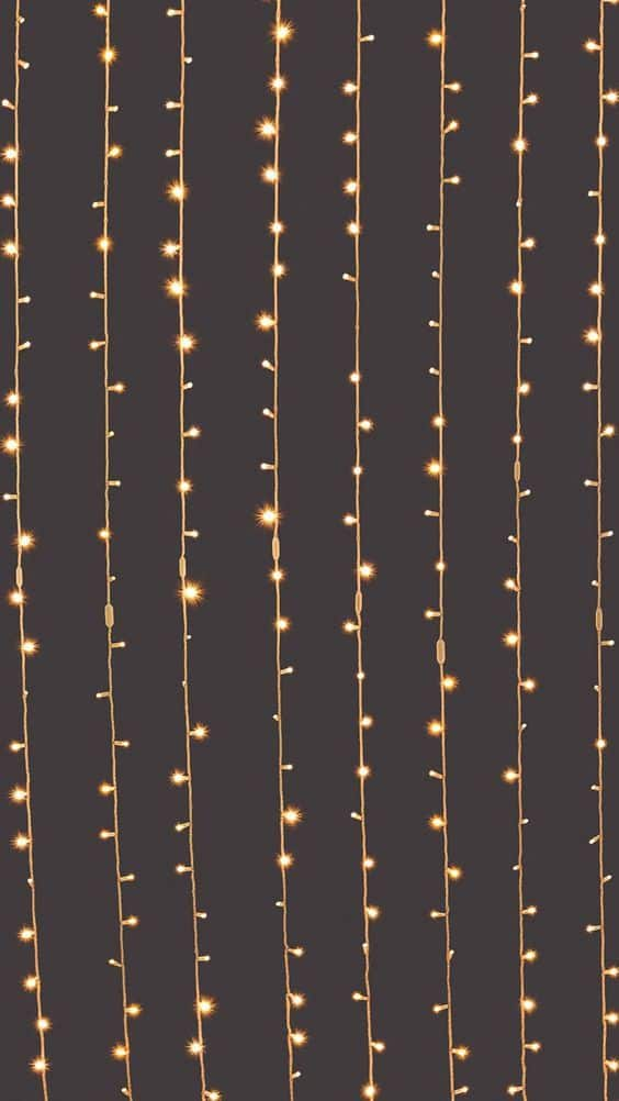 Black and gold Christmas lights background/wallpaper/template