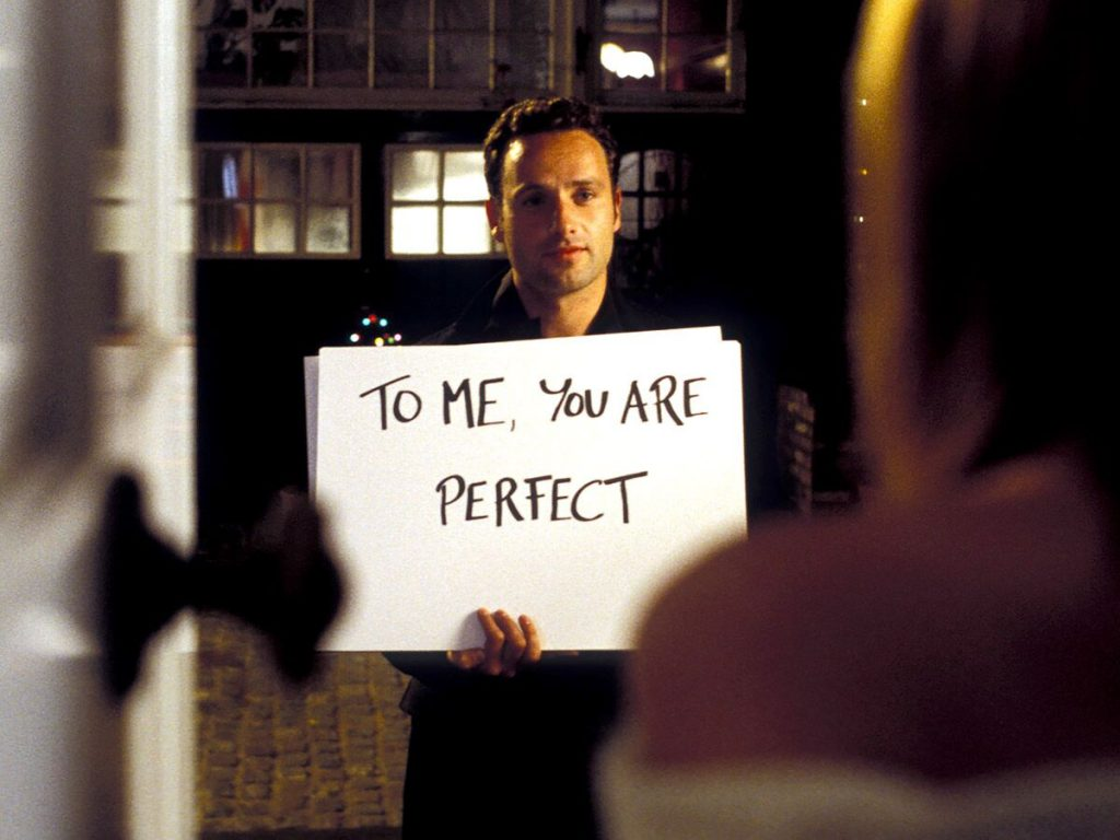 Top 10 Christmas movies- Love Actually exciting moment