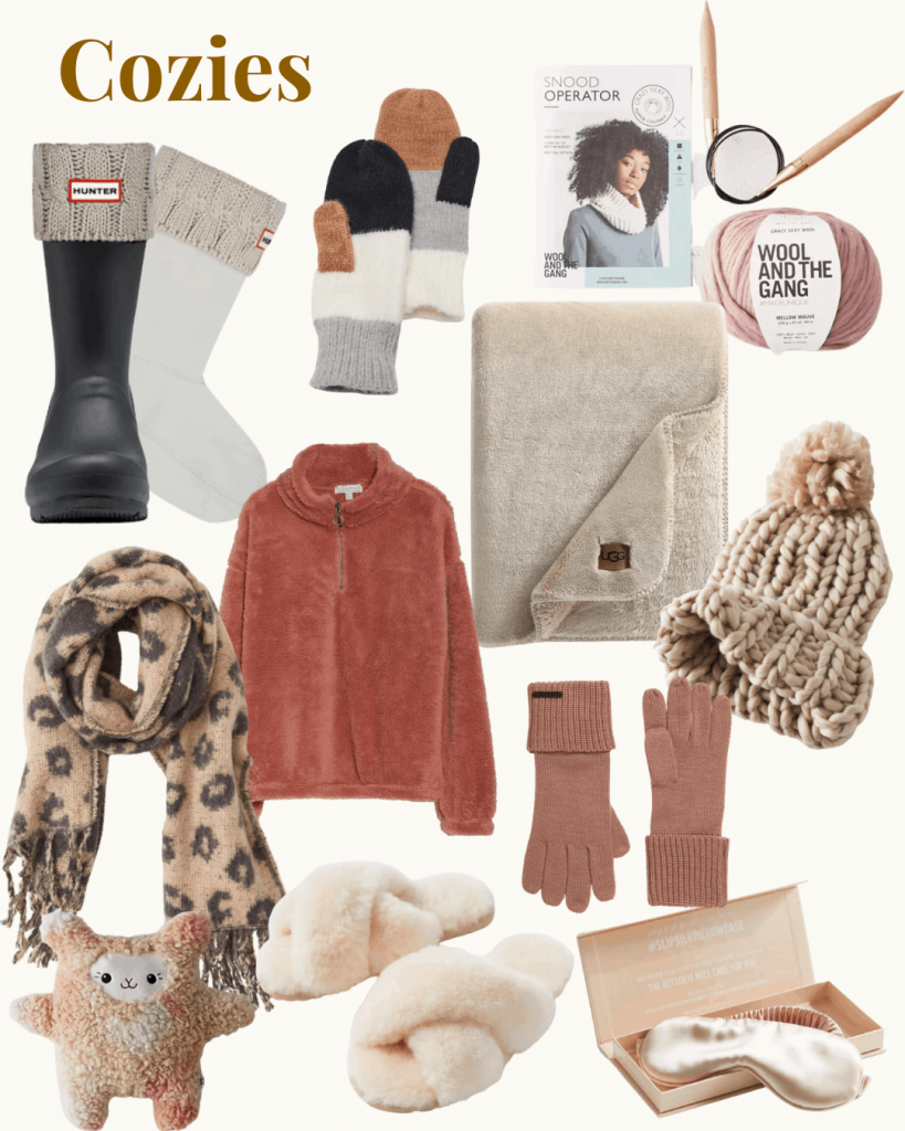 Gift Guide COZIES